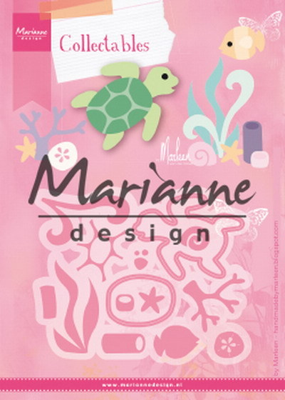 Marianne Design - Die - Collectables - Sealife by Marleen - COL1468