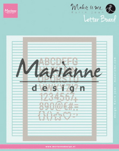 Marianne Design - Design Folder - Letter Board - DF3454
