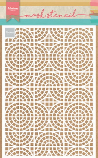 Marianne Design - Maskingstencil - Mosaic tiles - PS8035