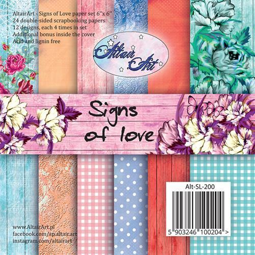 AltairArt - Paperpack - Signs of love - Alt-SL-200