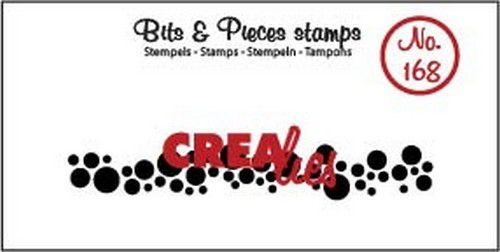 Crealies - Clearstamp - Bits & Pieces - Circles (strip) - CLBP168