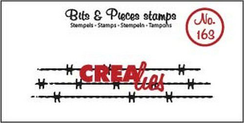 Crealies - Clearstamp - Bits & Pieces - Barbed wire - CLBP163