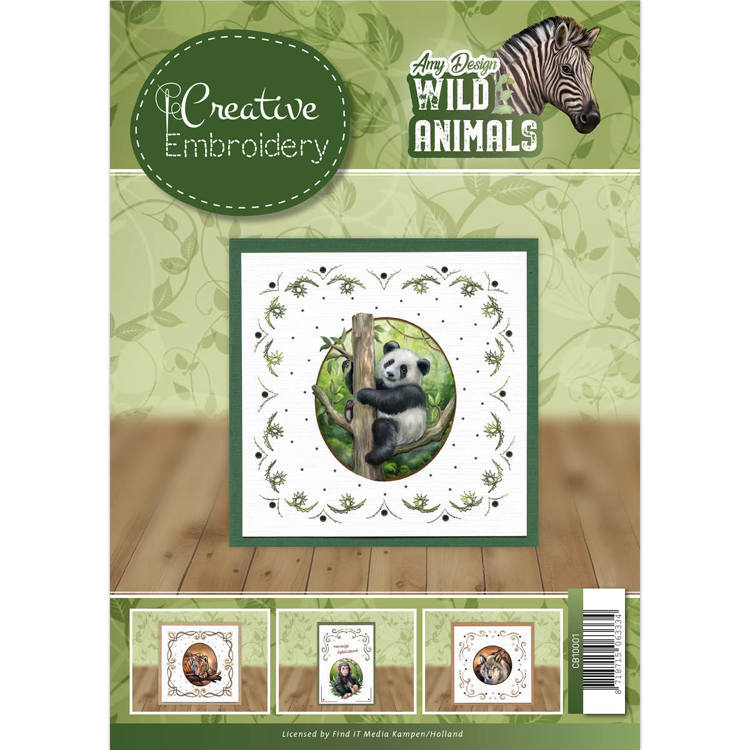Amy Design - Creative Embroidery 1 - Wild Animals 2 - CB10001