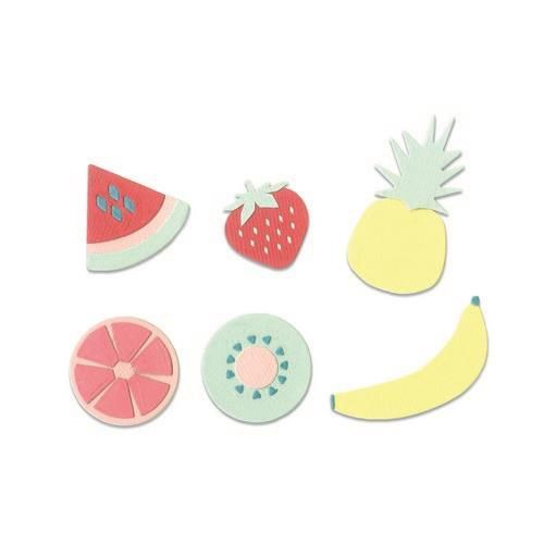Sizzix - Die - Thinlits - Summer Fruit - 663597