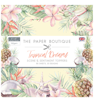 Creative Expressions - The Paper Boutique - Paperpack - 127 x 127mm - Tropical Dreams - PB1193