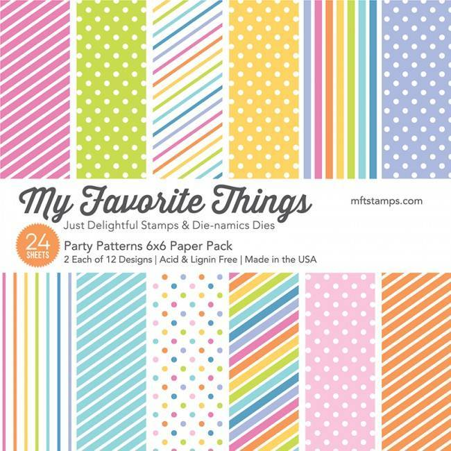 My Favorite Things - Paperpacks - Party Patterns - EP-51