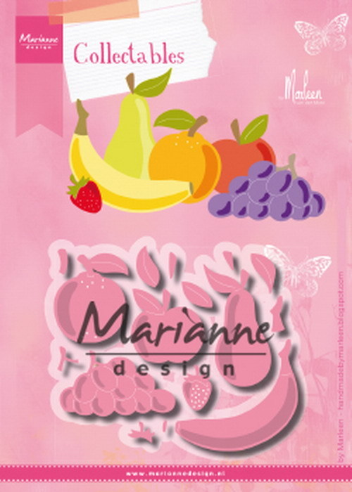 Marianne Design - Die - Collectables - Fruit by Marleen - COL1469