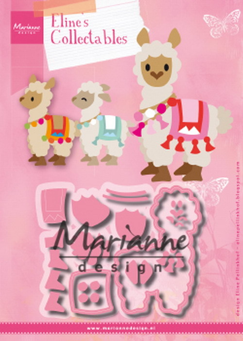 Marianne Design - Die - Collectables - Eline's Alpaca - COL1470