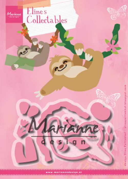 Marianne Design - Die - Collectables - Eline's Sloth - COL1471