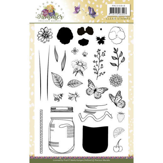 Clear Stamps - Precious Marieke - Blooming Summer - PMCS10040