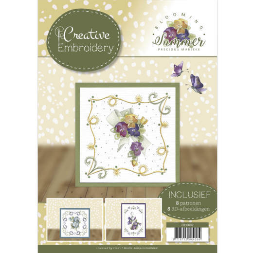 Precious Marieke - Creative Embroidery 2 - Blooming Summer - CB10002
