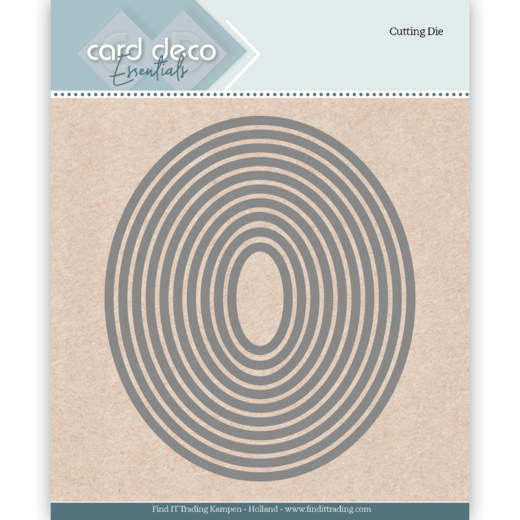 Card Deco - Die - Essentials - Ellipse - CDECD0021