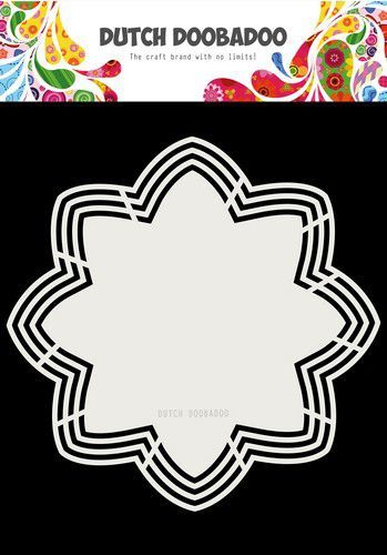 Dutch Doobadoo - Shape Art - Octo Flower - 470.713.177