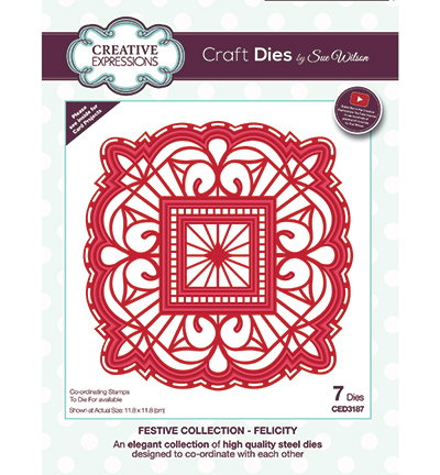 Creative Expressions - Die - The Festive Collection - Felicity - CED3187