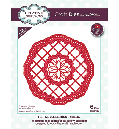 Creative Expressions - Die - The Festive Collection - Amelia - CED3185