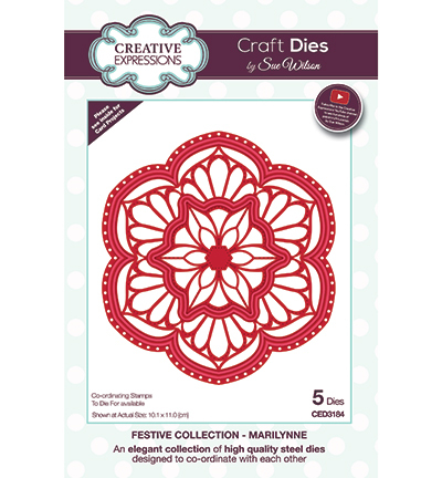 Creative Expressions - Die - The Festive Collection - Marilynne - CED3184