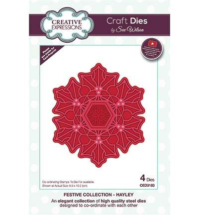 Creative Expressions - Die - The Festive Collection - Hayley - CED3183