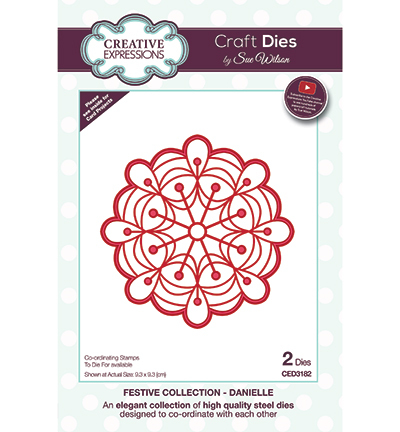 Creative Expressions - Die - The Festive Collection - Danielle - CED3182