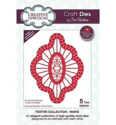Creative Expressions - Die - The Festive Collection - Marie - CED3181