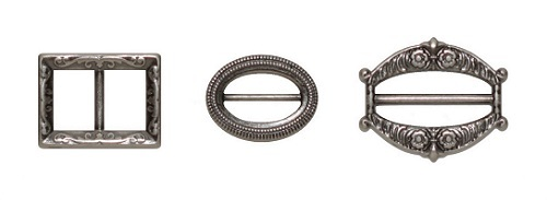 ScrapBerry`s - Embellishments - Set of fasteners: zilver - SCB341115
