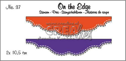 Crealies - Die - On the Edge - No. 37 - CLOTE37
