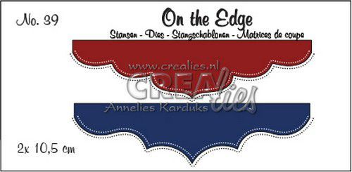 Crealies - Die - On the Edge - No. 39- CLOTE39