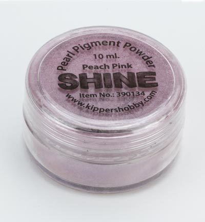 Kippers Hobby - SHINE - Pearl Pigment Powder: Peach Pink - 390134