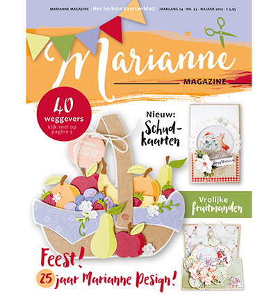 Marianne Design - Marianne Doe - Magazine No. 43 - DOE43