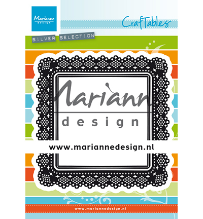 Marianne Design - Die - Craftables - Shaker Square - CR1475