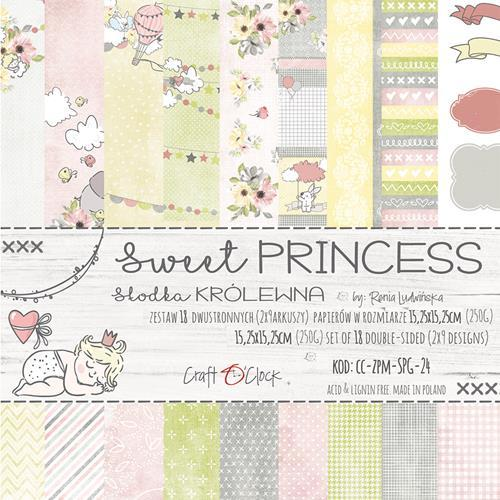 Craft O`Clock - Paperpack - Sweet Princess - CC-ZPM-SPG-24