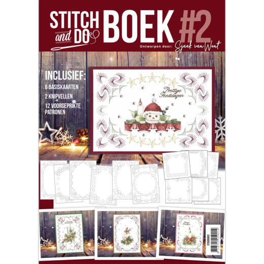 Card Deco - Stitch and Do - Boek No. 02 - STDOBB002