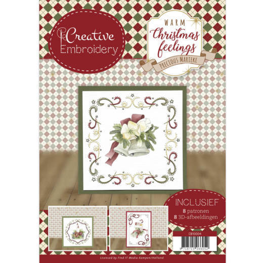 Precious Marieke - Creative Embroidery 4 - Warm Christmas Feelings - CB10004