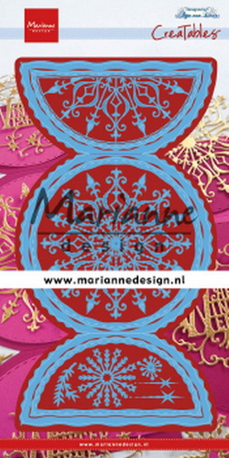 Marianne Design - Die - CreaTables - Anja's Folding circle XL - LR0618