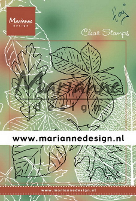 Marianne Design - Clearstamp - Tiny's leaves set - TC0876