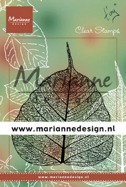 Marianne Design - Clearstamp - Tiny's leaf - TC0877