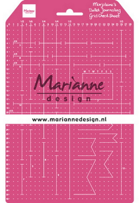 Marianne Design - Marjoleine`s - Grid Cheat Sheet - LR0030