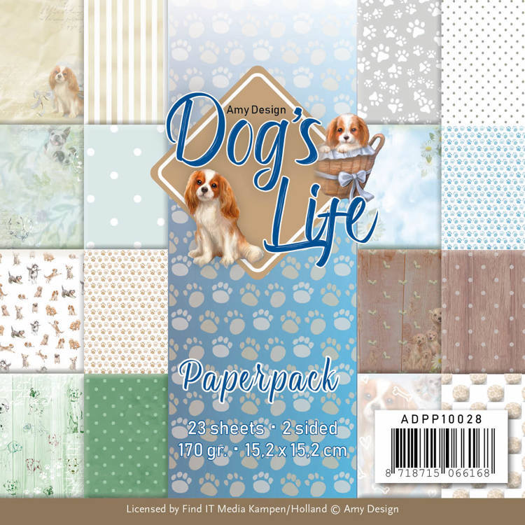 Amy Design - Paperpack - Dog`s Life - ADPP10028