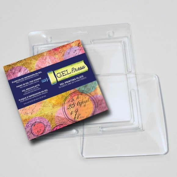 "Gelpress - Mixed Media - Gel Printing Plates - Vierkant - 6"" x 6""inch - GP108001050"