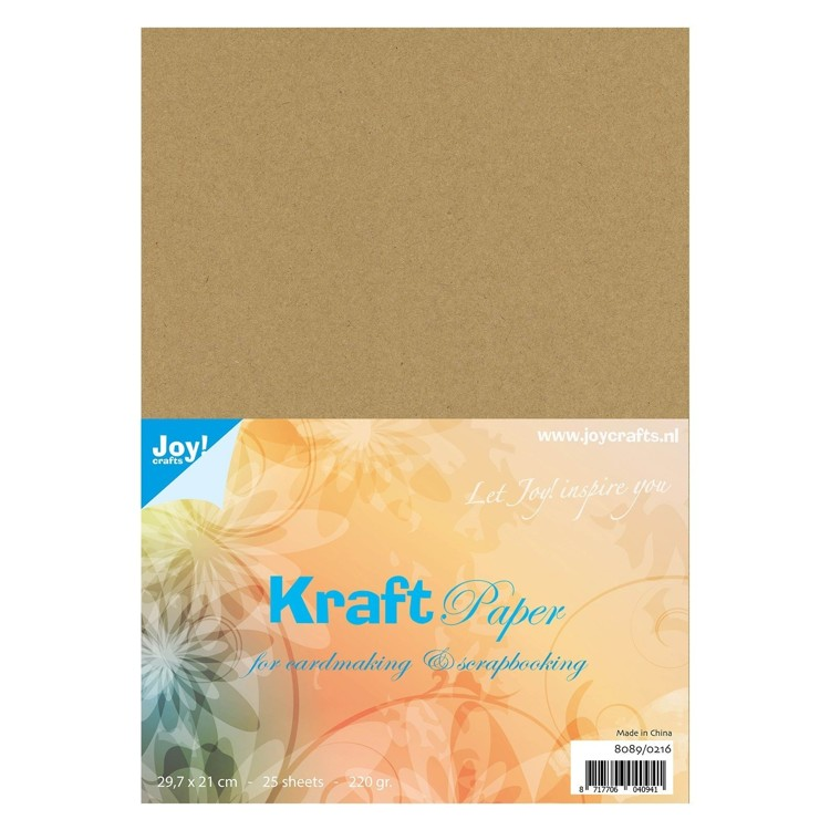 Joy!crafts - Papier - Kraft Paper - A4 - 8089/0216