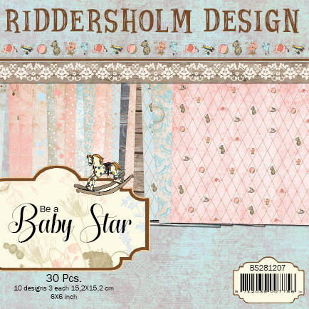 Dixi Craft - Paperpack - Be a Baby Star - BS281207