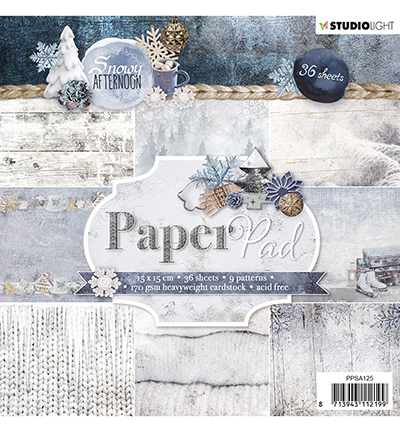 Studio Light - Paperpack - Snowy Afternoon - PPSA125