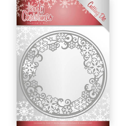 Jeanine`s Art - Die - Lovely Christmas - Lovely Circle Frame - JAD10077