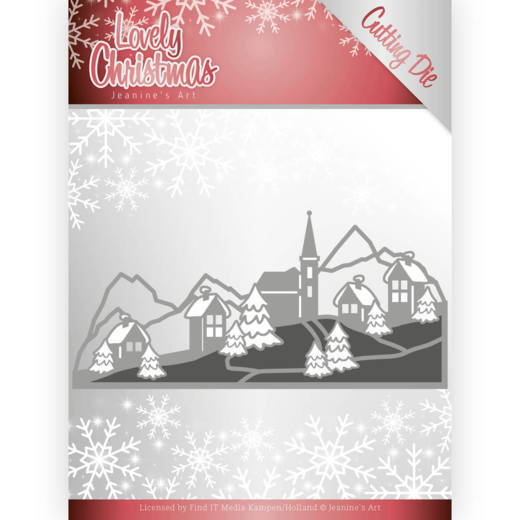 Jeanine`s Art - Die - Lovely Christmas - Lovely Christmas Landscape - JAD10079