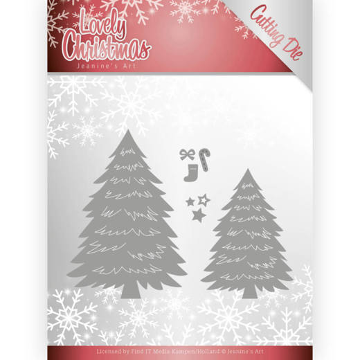 Jeanine`s Art - Die - Lovely Christmas - Lovely Trees - JAD10081