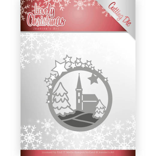 Jeanine`s Art - Die - Lovely Christmas - Lovely Church - JAD10082