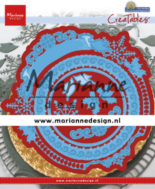 Marianne Design - Die - CreaTables - Petra`s Winter Circle - LR0627