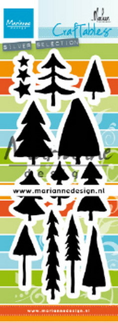 Marianne Design - Die - Craftables - Trees - CR1483