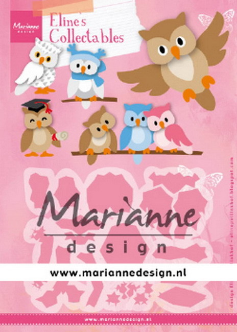 Marianne Design - Die - Collectables - Eline`s Owl - COL1475