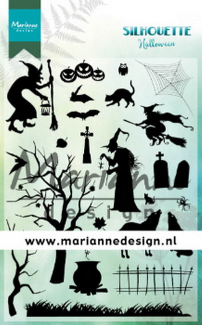 Marianne Design - Clearstamp - Silhouette - Halloween - CS1039