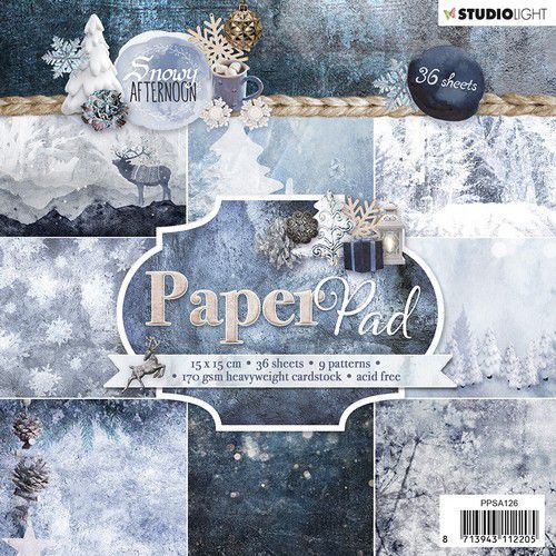 Studio Light - Paperpack - Snowy Afternoon - PPSA126